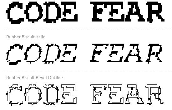 Free Game Fonts