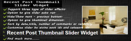 WordPress Recent Post Widgets