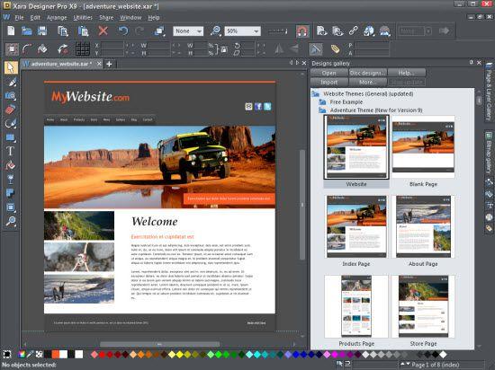 Xara Designer Pro Ultimate Graphic Software