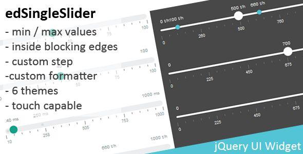 jQuery Range Slider