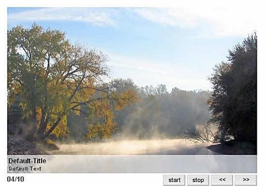 Joomla Image Slider