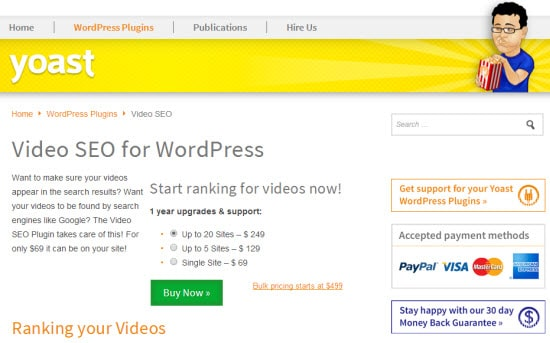 Expensive WordPress