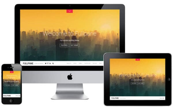 Parallax Theme Fullpane by Themify