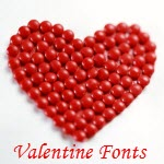 30 Beautiful and Free Valentine Fonts