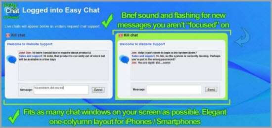 PHP Chat Script Easy Chat