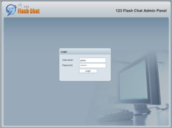 PHP Chat Script 123 Flash Chat