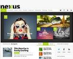 Magazine Style WordPress Theme Nexus