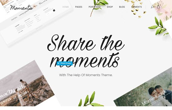 Moments - A Multipurpose Wedding Theme