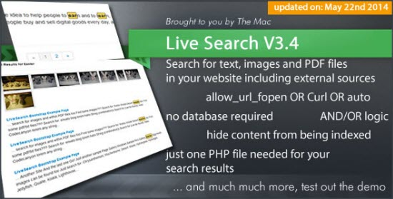 PHP Search Engine Scripts