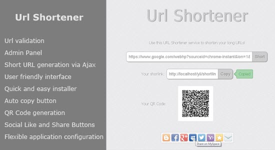 URL Shortener Scripts