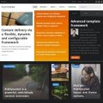 News Style Joomla Template Plethora