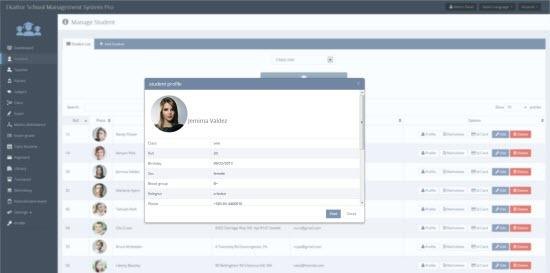 Ekattor School Management software