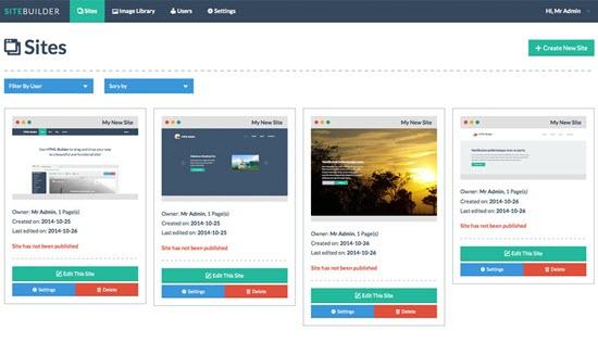SiteBuilder Lite
