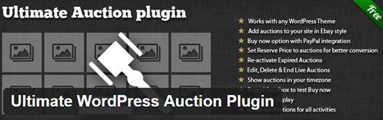 WordPress Auction Plugins
