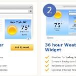 5 Free Weather Widget for Websites or Blog