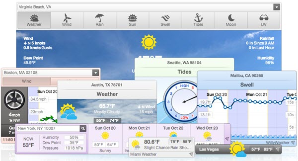 5 Free Weather Widget for Websites or Blog - CodeFear