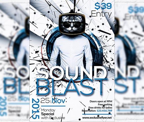 Sound Blast - Premium Flyer