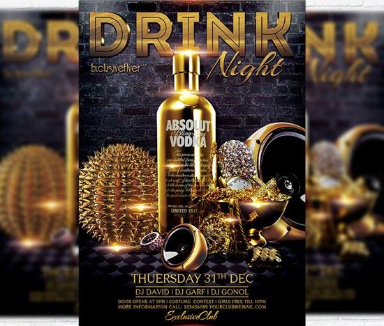 Drink Night - Premium Flyer