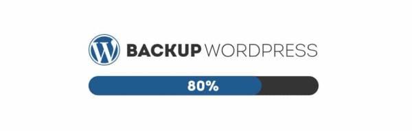 Backup WordPress