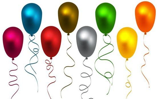 Free Colorful Balloons Vector