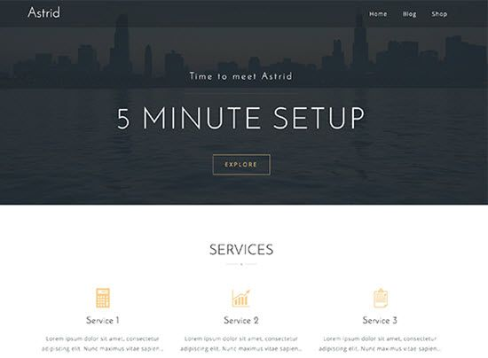 Astrid Free WordPress Themes