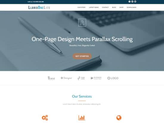 Llorix One Free WordPress Themes