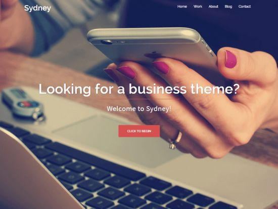 Sydney Free WordPress Themes