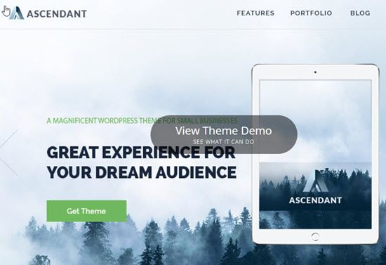 Ascendant Free WordPress Themes