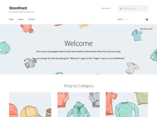 Storefront Free WordPress Themes