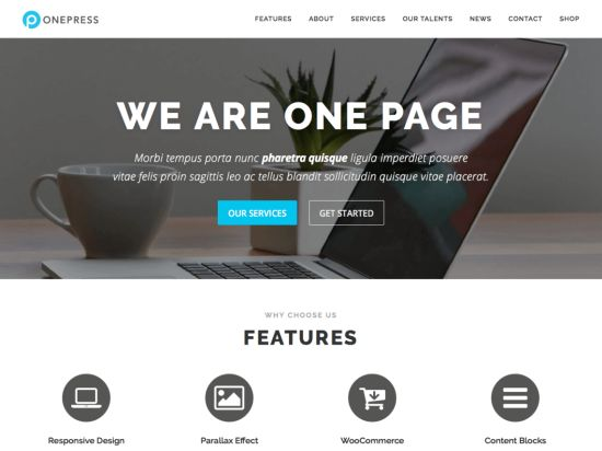 OnePress Free WordPress Themes