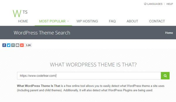 What WP Theme Is That