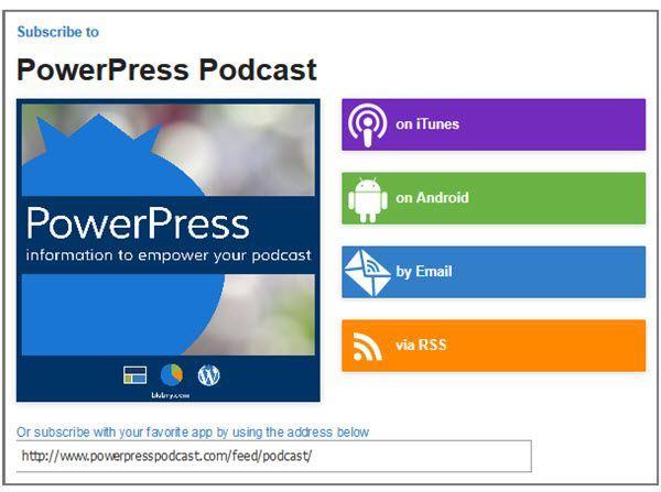 PowerPress WordPress Podcast Plugins