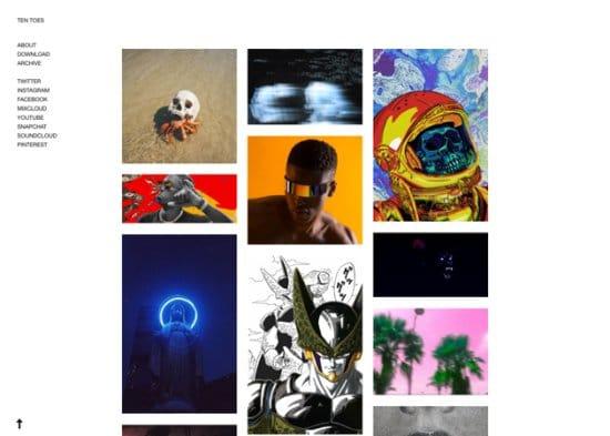Ten Toes Free Tumblr Themes