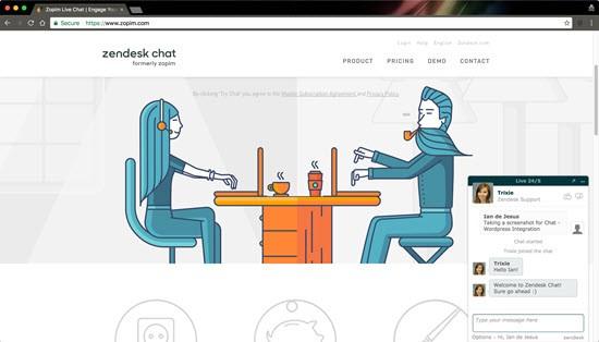 Zendesk WordPress live chat plugins