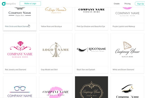 DesignEvo Logo Templates