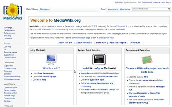 MediaWiki Wiki Software
