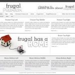 Frugal Clean WordPress Theme