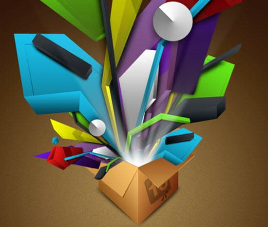 Photoshop Abstract Image Tutorials
