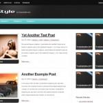 Free Magazine Style WordPress Theme deStyle