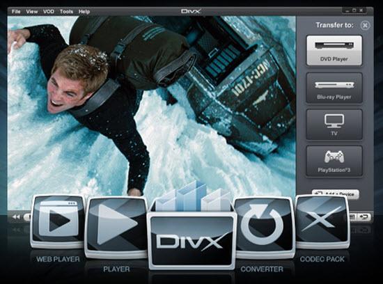 Multimedia Softwares- Divx-player