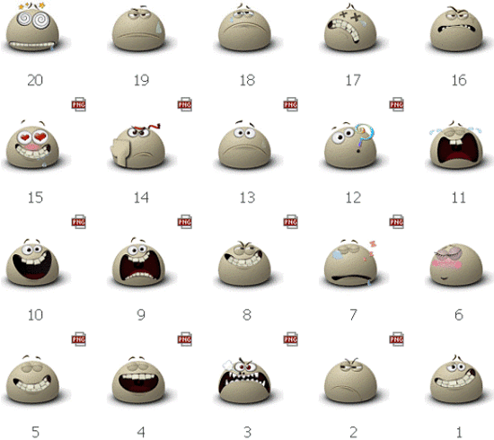 Free Emotion Icon Sets
