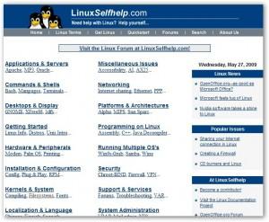 linux-self-help