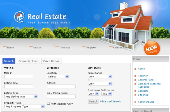 how to choose a domain name for real estate